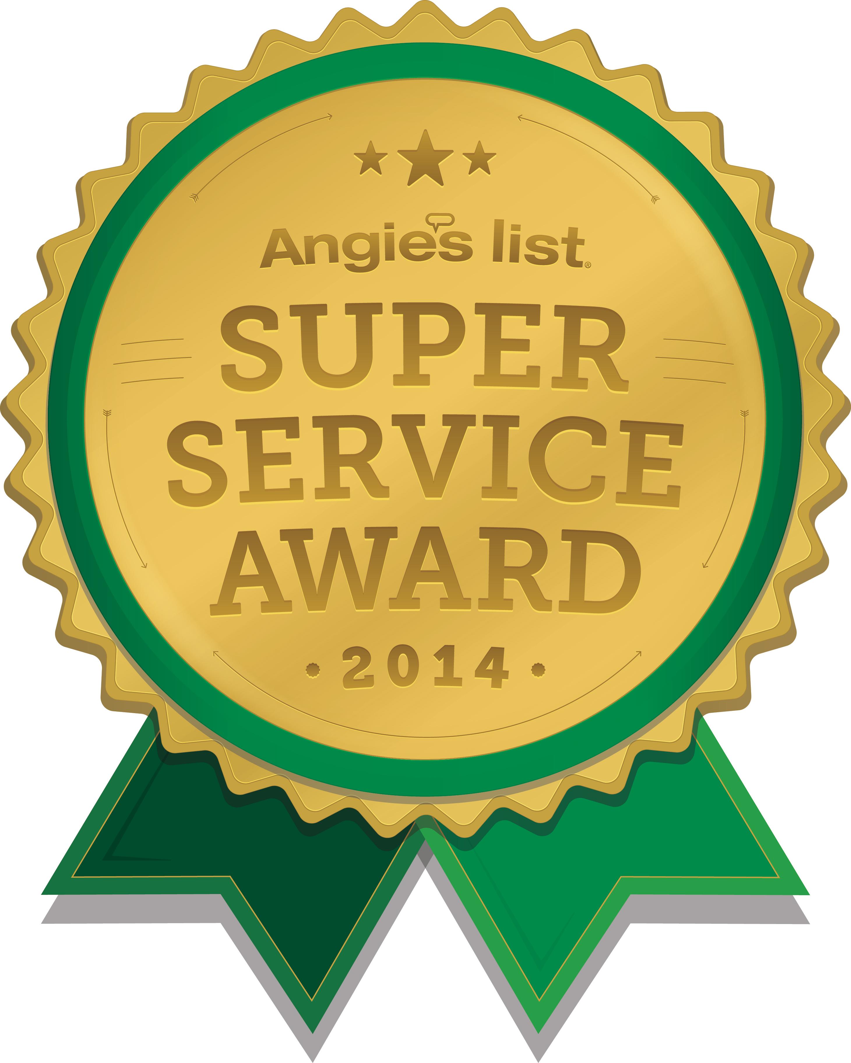 2014 super service award